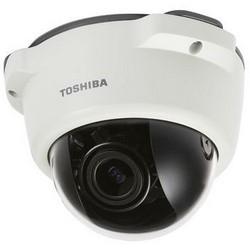 Caméra IP, anti-vandalisme, Dôme, 4 x Zoom, jour/nuit, H.264/MPEG4/MPJEG, résolution 720P, 3 à 12 MM avec objectif varifocale Iris fixe, 32GO, 12 VDC, 3. 84 a, PoE