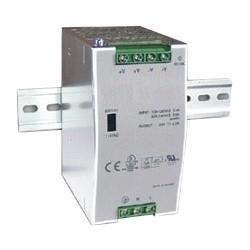Industrial Power Supply, 88 to 370 VAC Input, 47 to 63 Hertz, 48 VDC Output, 120 Watt, 65.5 MM Width x 100 MM Depth x 125.2 MM Height, DIN Rail