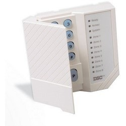 "Security System Keypad, 8-Zone, Immediate Response Emergency Key, 5.5"" Width x 1"" Depth x 4.5"" Height"