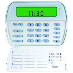 """LCD Keypad, Picture Icon, 64-Zone, Surface/Wall Mount, 12 VDC, 125 Milliampere, 6-1/16"""" Width x 13/16"""" Depth x 4-7/16"""" Height"""