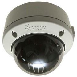 Caméra réseau, Dôme, NTSC/PAL, motorisés Zoom, jour/nuit, intérieur/extérieur, H.264/MJPEG/MJPEG4, 0,3 MP résolution, se concentrer PoE de lentille, 3 VAC/9 VDC, 24 à 12 MM