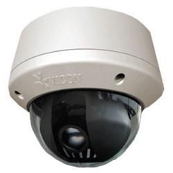 Caméra réseau, Dôme, NTSC/PAL, motorisés Zoom, jour/nuit, intérieur/extérieur, H.264/MJPEG/MJPEG4, 2048 x 1536 résolution, se concentrer PoE de lentille, 3 VAC/9 VDC, 24 à 12 MM