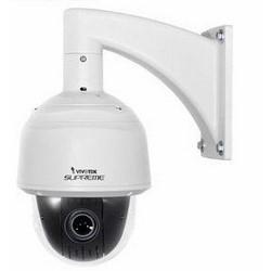 Network Camera, Speed Dome, WDR, jour/nuit, intérieur/extérieur, H.264/MJPEG/MPEG4, F1,6/F3,5 DC Iris Lens de 4,7 à 94 MM, 19 Watt, 1920 x 1080 résolution 24 VAC, PoE