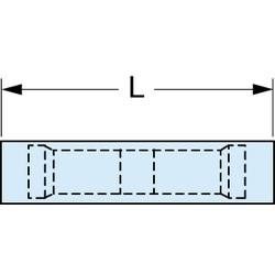3M Scotchlok Butt Connector, Heat Shrink Seamless MH14BCK, 16-14 AWG