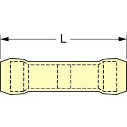 3M Scotchlok Butt Connector Nylon Insulated, 50/bottle, MNG10BCX