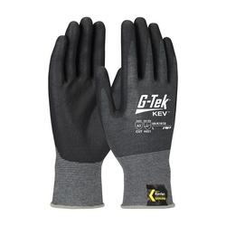 G-Tek KEV, Kevlar Engineered Yarn, Gray 18 Gauge, Nitrile Foam, ANSI A2, 2XL