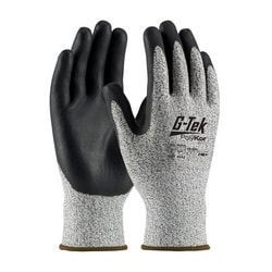 G-Tek CR S&P PolyKor Blended Shell, Black Nitrile Coating, EN3, Small