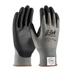G-Tek PolyKor Xrystal, Blended Gray 13 Gauge, Polyurethane, ANSI A4, Medium