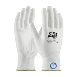 G-Tek 3GX, White Dyneema Diamond Shell, White PU Coat, EN5, Small