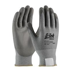 G-Tek 3GX, Gray. Dyneema Diamond, Gray. PU Coat, EN5, 2XL