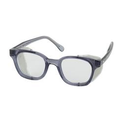 Trad Spec, Clear Lens AS/AF, Smoke Frm Wire Sideshields, U-Fit Tmpls