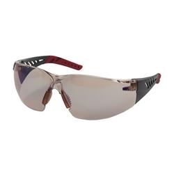 Q-Vision, I/O Bl Lens, AS/AF, Burgundy Rubber Tmpl Tips, Dielectric