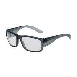 Bond, Clear Lens, AS/AF, Translucent Charcoal Frame