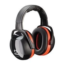 Hellberg Headband, Secure 3 with 28 dB NRR, Orange/Black, Dielectric