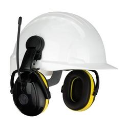 Hellberg Secure Relax with AM/FM Radio, 23 dB NRR, Yellow/Black