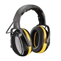 Hellberg Secure Active with Level Dependent, 24 dB NRR, Yellow/Black