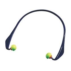 Banded Oval Foam, 20 dB NRR, Lime PU w/ Ergonomic Black Band, 10/Box