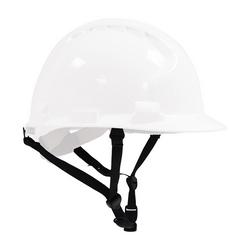 Optional Chin Strap, 4-Point Black, Fits JSP Evolution 6100 Hard Hats