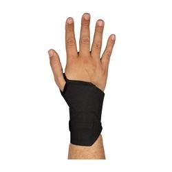 Wrist Wrap w/ Thumb Loop, Black, OSFM Elastic w/ Hook & Loop Closure