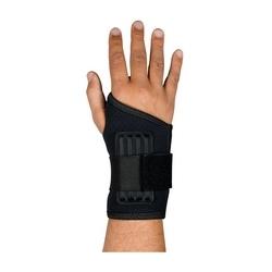 "Wrist Support w/ Stays, Med 6-7"", Terry/Neoprene, Hook & Loop Closure, Medium"