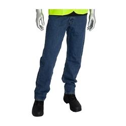 FR Dual Cert Denim Jean, 16 Cal, NFPA 70E & 2112 UL Cert, Blue