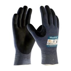 MaxiCut Ultra, Blu. Engineered Yarn, Black MicroFoam Nitrile Coating, EN5, Small