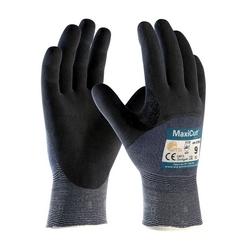 MaxiCut Ultra, Blu. Engineered Yarn, Black 3/4 MicroFoam Nitrile Coating, EN5, Large