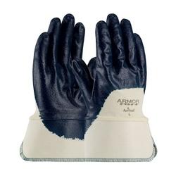 ArmorLite, Interlock Liner, LW, Blue, Nitrile Palm Coat, Plastic SC, Medium
