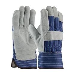 Silver Series, A/B Select Shoulder, Dbl Palm, Blue/Green, Rubberized SC