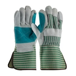 Bronze Series, B Grade Shoulder, Dbl Palm, Pink/Green, Rubberized GT