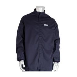 12 Cal FR Jacket, 9oz. Cotton NFPA 70E/ASTM F1506, Navy, 2XL