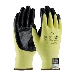 Kevlar/Lycra, Solid Nitrile, Smooth Grip, 13G, EN2, Small