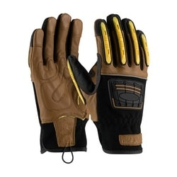 MAXIMUM SAFETY, Kevlar Lined, Goat Leather Palm, TPR on Fingers, EN4, 2XL