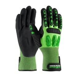 Maximum Safety TuffMax3, Nitrile Coated Palm, TPR Reinforcements, EN3, 2XL
