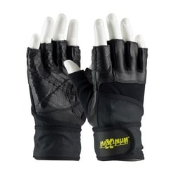 Anti-Vibration w/Shock Absorbing Pad, Heavy Duty w/Wrist Strap, Large