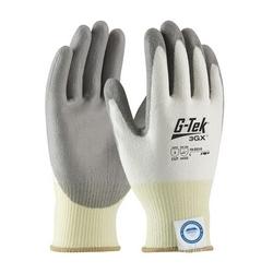 G-Tek 3GX w/White Dyneema Diamond, Gray. PU Coating, EN4, XS