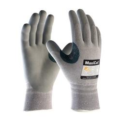 MaxiCut 5, Gray. Dyneema/Engineered Yarn Shell, Foam Nitrile Coating, EN5, XL