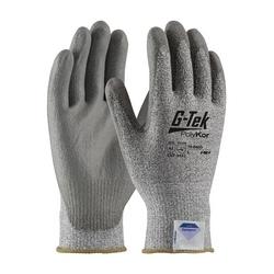 G-Tek CR, Gray. Spun Dyneema/Nylon Shell, Gray. PU Coat, EN3, 2XL