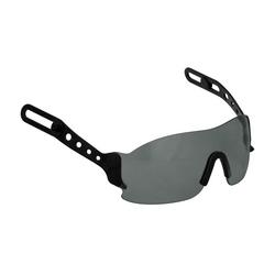 EvoSpec Eyewear, Gray AS/AF Lens, Retracts Into Evo Hard Hat Shell
