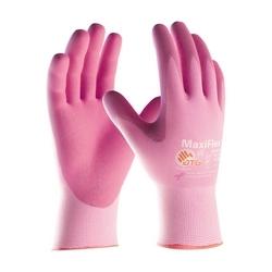 MaxiFlex Active, 15G Pink Nylon/ Yellow Shell, Pink Foam Nitrile, XS