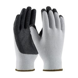 G-Tek 10G Gray. Cotton/Polyester Shell, Black Nitrile Coating, XL
