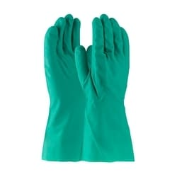 Assurance Unsupport Nitrile, Green, 11 Mil, 13 Inch, Unlined, Diamond, XL
