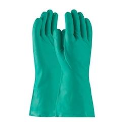 Assurance Unsupport Nitrile, Green, 15 Mil, 13 Inch, Unlined, Diamond, Medium