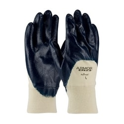 ArmorLite, Interlock Liner, LW, Blue, Nitrile Palm Coat, KW, XL