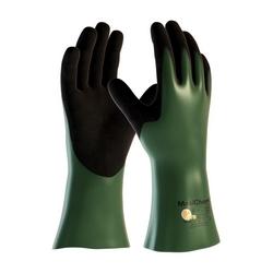 MaxiChem, EN3 Liner, Green/ Black Nitrile Blnd, Full Coat, 12 In., 2XL