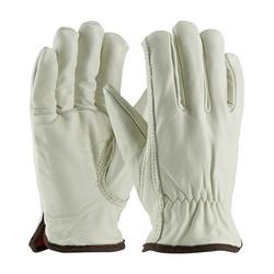 Top Grain Cowhide Drivers, Premium, Red Thermal Lining, Keystone Thumb, XL