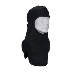100% Nomex Full Face, Black Str-Cut Design, 2-Ply Head & Bib, NFPA 1971