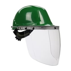 Aluminum Hard Hat Bracket for Faceshields, Fits Cap Style