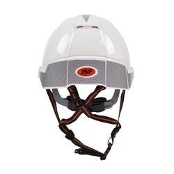 CR2 Reflective Kit for JSP EvoLite Skyworker Helmet, Silver, 10/Pack