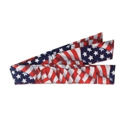 Cooling Bandana, Absorbent Cooling Crystals, Poly/Cotton, Patriot